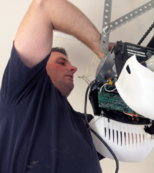 We service garage door openers all over Nevada and California