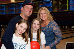 Strikes for Kids - Make a Wish event
